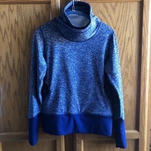 Lucy Activewear Funnel Neck Top. Size XS.